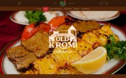 Дизайн сайта ресторана «Старый Кром»