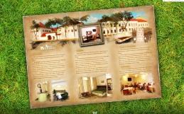 Дизайн буклета гостиницы