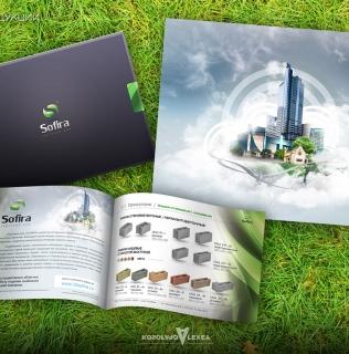 Дизайн каталога Sofira